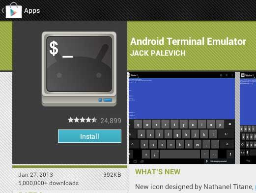android terminal emulator apk