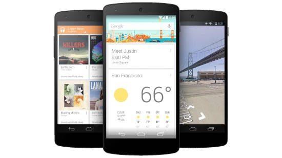 Linha Nexus Android L