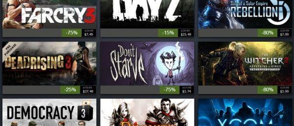 Agora é hora de aproveitar diversos games em promoção na Steam! (Foto: Divulgação)
