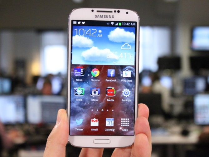 Galaxy S4 Android L