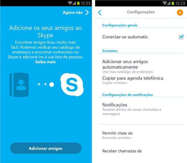 Skype 5.0 para Android