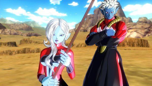 Dragon Ball Xenoverse - Towa and Mira