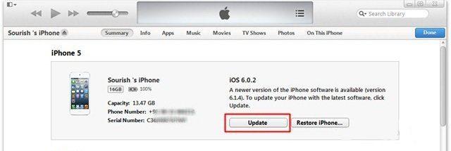 Atualizar Iphone IOS 8