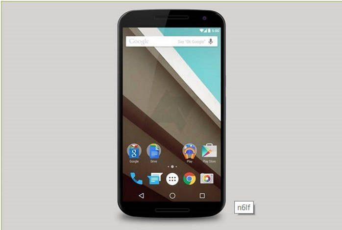 Nexus 6 imagem conceito