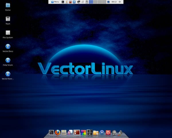 Vector Linux sistemas Linux leve