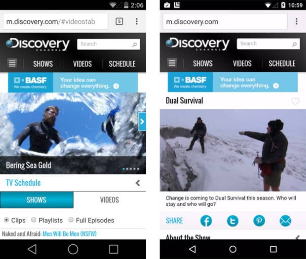 Android L Novos ícones