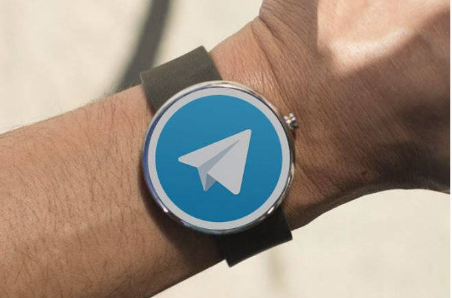 Telegram Aplicativo Android Wear