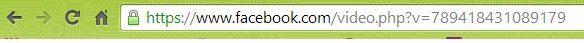 como baixar vídeos do facebook  url