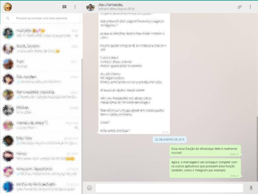 WhatsApp Web: aplicativo ganhou sua versão para Desktop