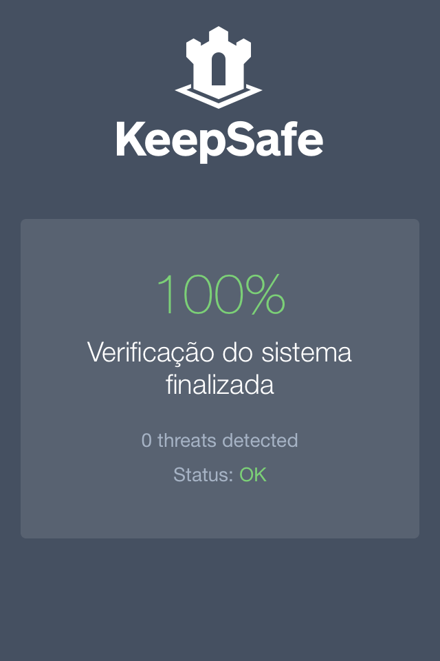 """Abertura Falsa do app grátis para iphone """"keepSafe"""" (foto: reprodução)"""