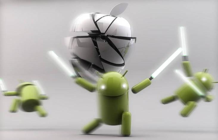 Android Lollipop é mais estável que o IOS 8!