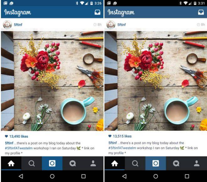 Instagram: Atualização traz barra de status colorida no Lollipop