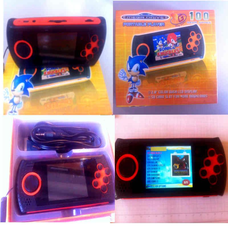 Mega Drive Portátil (foto: mobile bit)