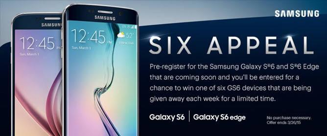 Galaxy S6 e S6 Edge vazam em promoção da operadora Sprint