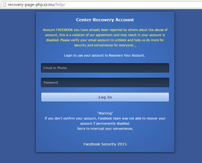 Facebook: Novo esquema está sendo usado para roubo de contas