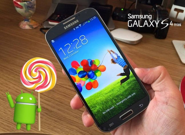 Android 5.0 Lollipop confirmado para Galaxy S4 Mini