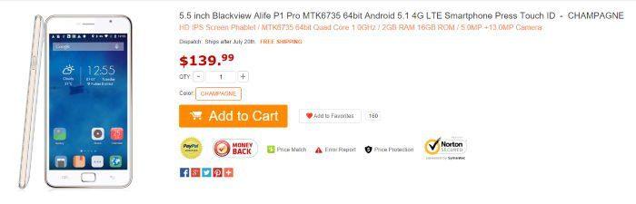 Alife P1 Pro está em promoção e pode ser importado no GearBest