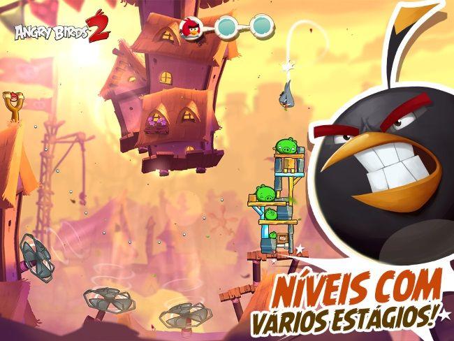Angry Birds 2 já está disponível na Google Play Store