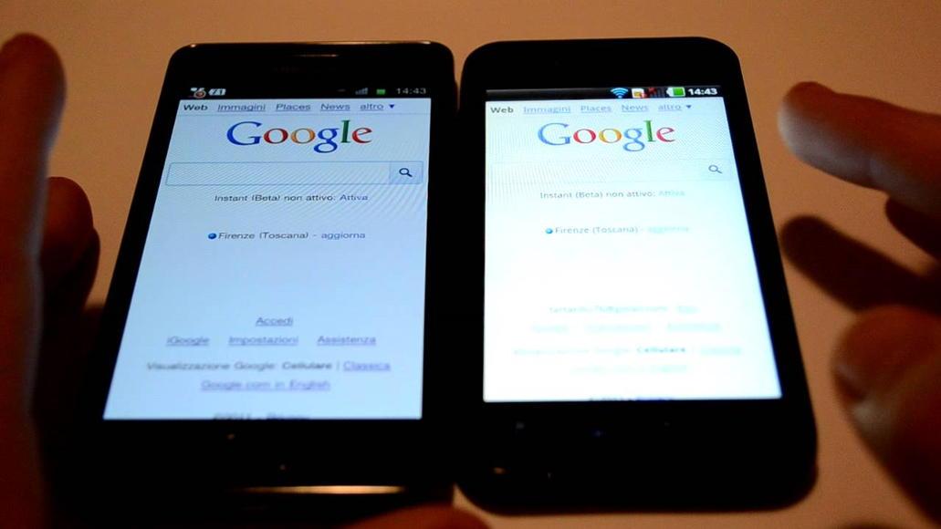 amoled vs ips mondo android