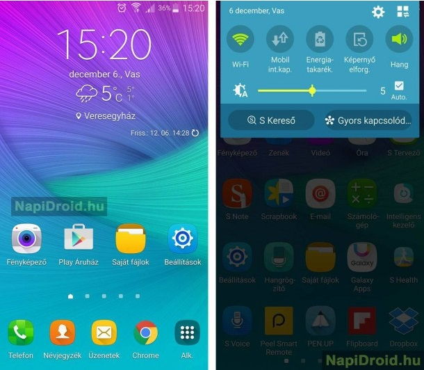 galaxy note 4 android 6.0 marshmallow