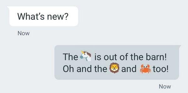 whatsapp atualizacao novos emojis