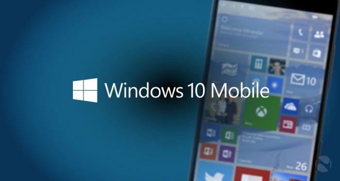 build windows 10 mobile lumia 950 e 950 xl