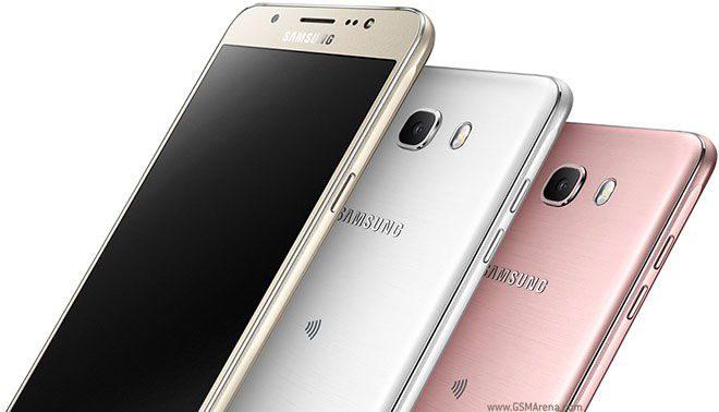 samsung galaxy j7 2016 smartphones juntos com suas cores