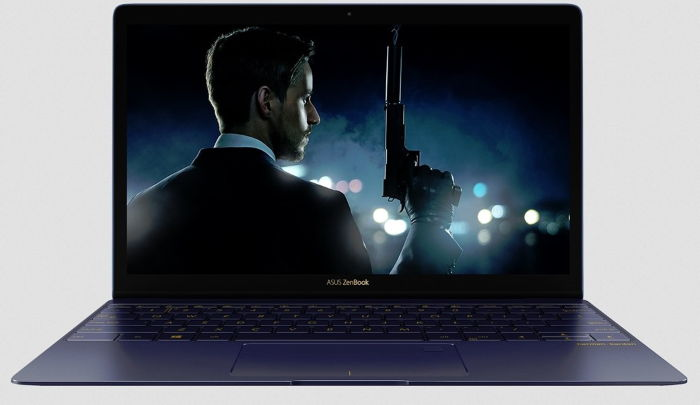 ASUS Zenbook 3 part frontal