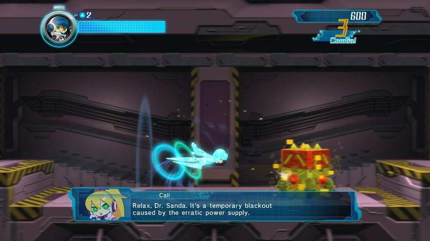 Mighty No.9 dash