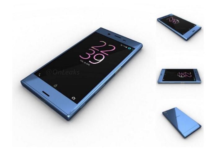 Vazam novas imagens do Xperia XR, novo smartphone da Sony. (Foto: Divulgação/@OnLeaks)