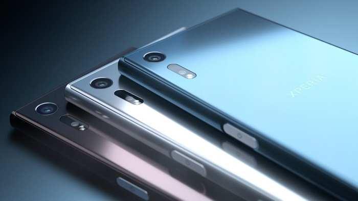O novo Sony Xperia XZ chegará ao Brasil com três cores: Azul, prata e grafite. (Foto: Divulgação)