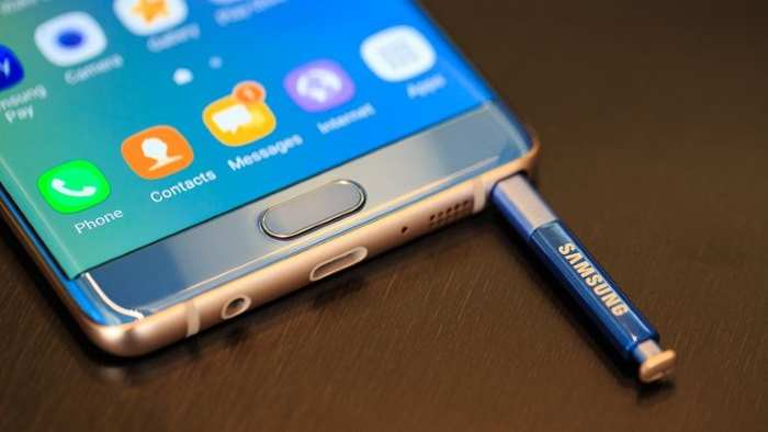 O Galaxy Note 7 foi eleito como o melhor smartphone do ano. (Foto: Divulgação/Cnet)