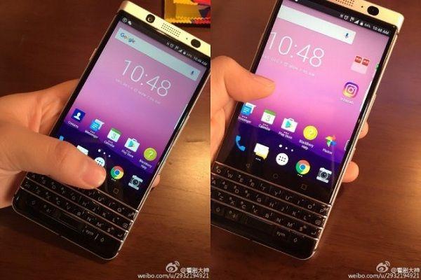 A BlackBerry está trabalhando no Mercury, seu novo smartphone Android com teclado físico. (Foto: Divulgação/Weibo)