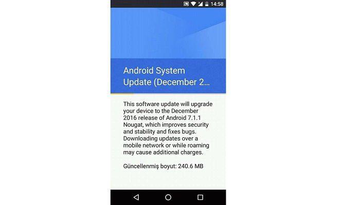 A Google liberou o update com a versão final do Android 7.1.1 Nougat. (Foto: Divulgação/AndroGuider)