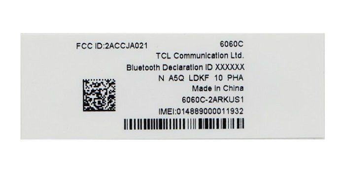 idol 5 certificacao fcc - Alcatel Idol 5 passa por certificação no FCC nos EUA