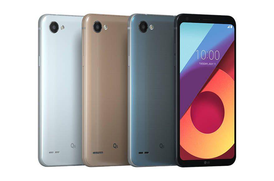 LG Q6+, LG Q6