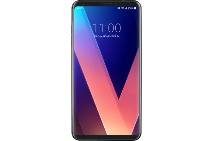 LG V30 - Parte frontal