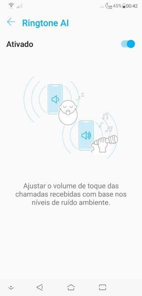 Zenfone 5 2018 - Toque de IA