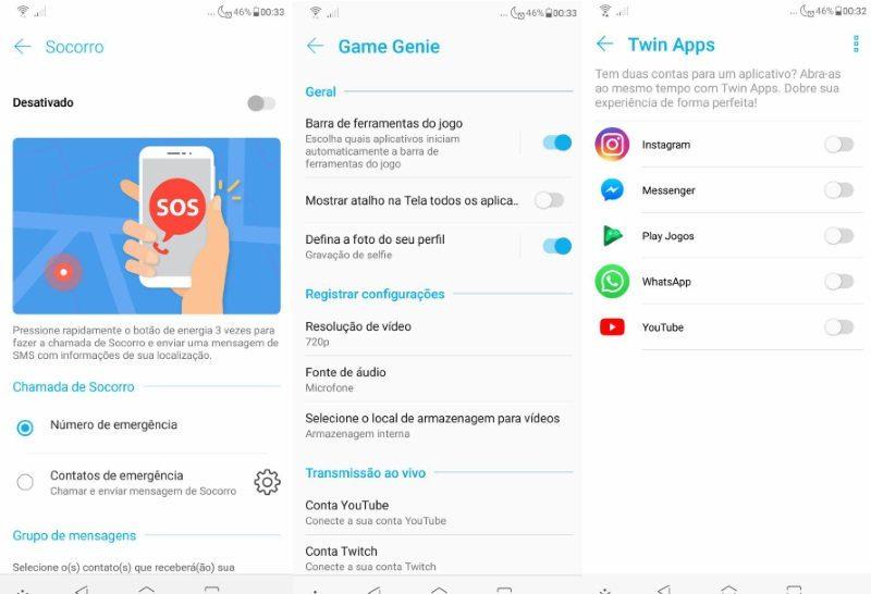 Zenfone 5 2018 - ZenUI 5.0 recursos