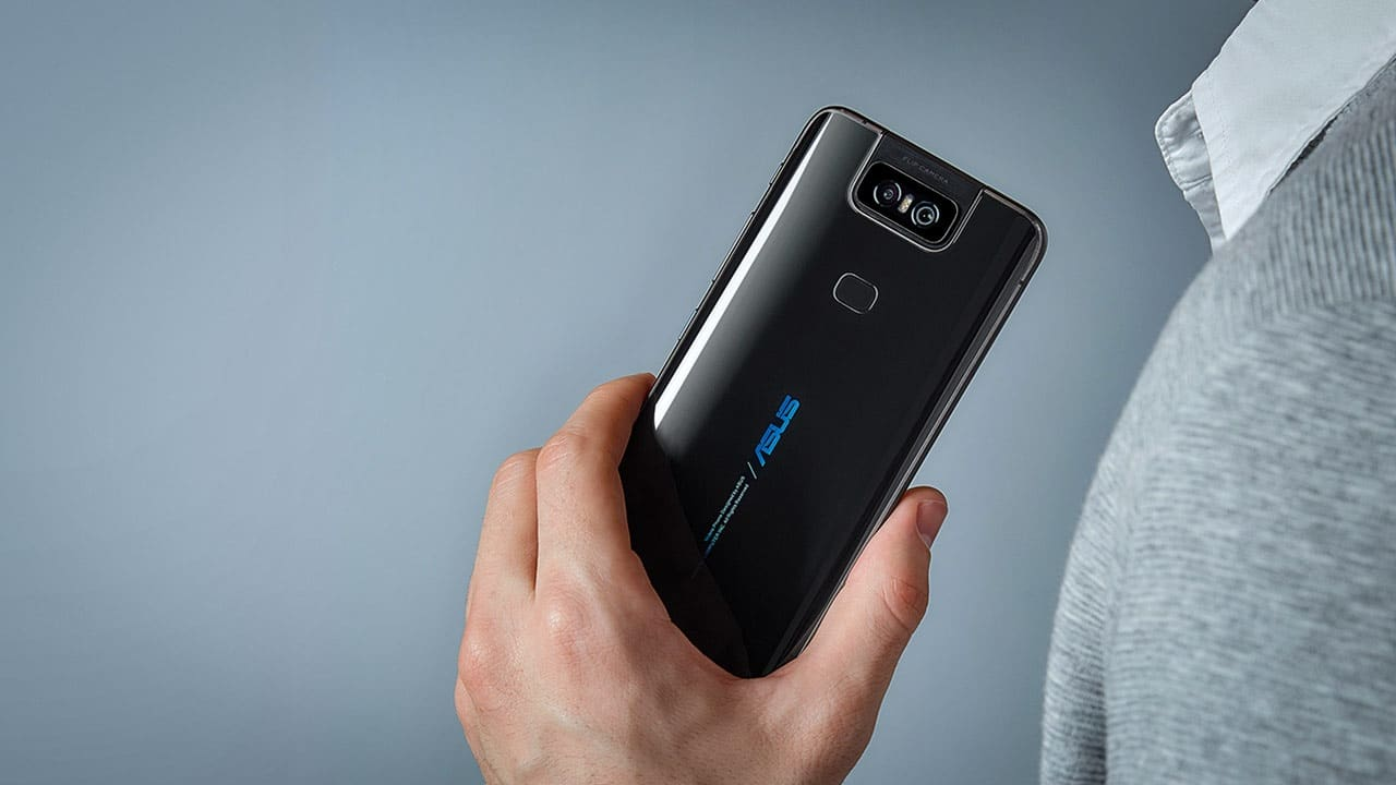 zenfone 6 preto flip camera