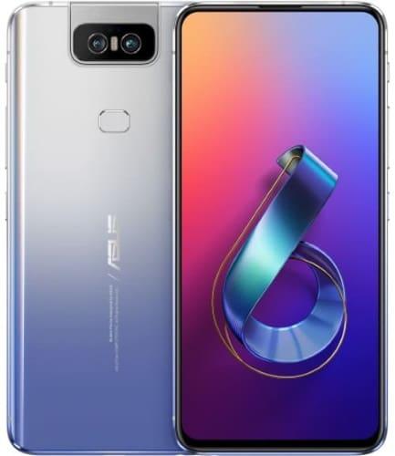 Tela do Zenfone 6 prata