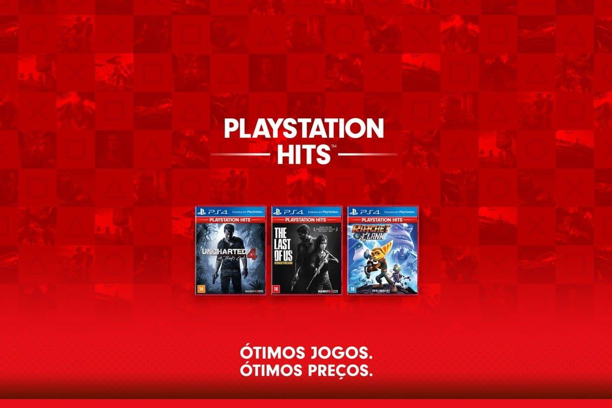 Sete novos títulos inclusos no programa PlayStation Hits.