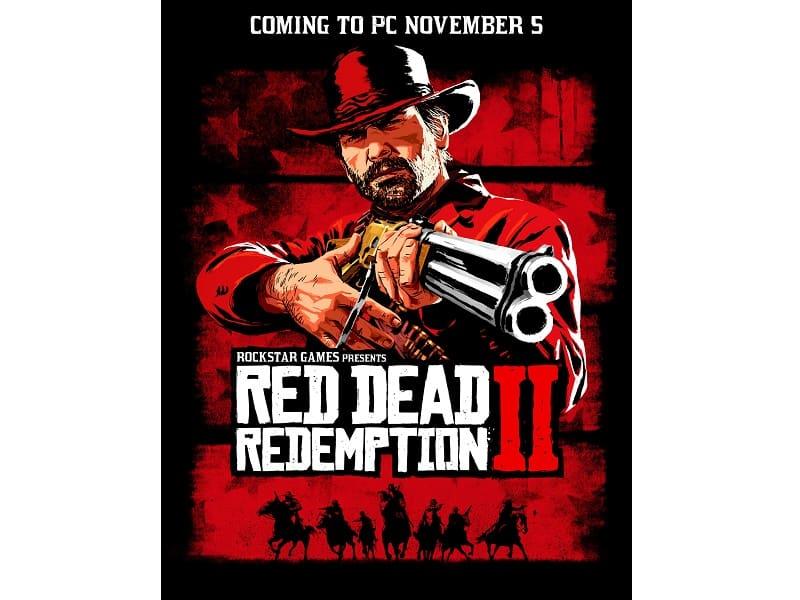 Red Dead Redemption 2 chega para PC em novembro.