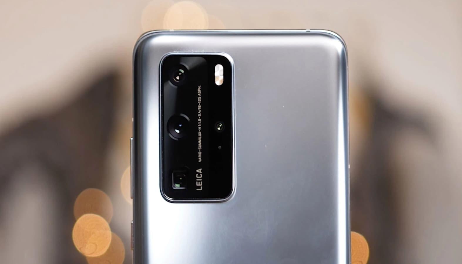 Linha Huawei P40 é oficializada.