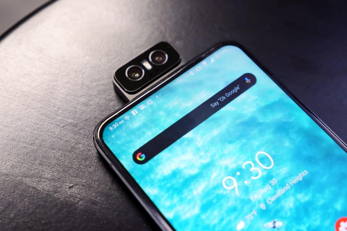 Zenfone 6 Câmera Flip.