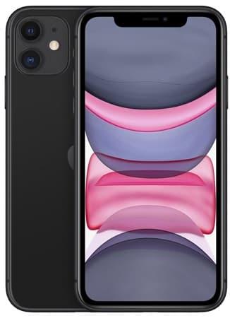 iPhone 11 preto.