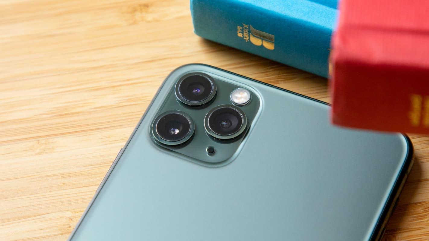 Iphone 11 Pro Max módulo de câmera.