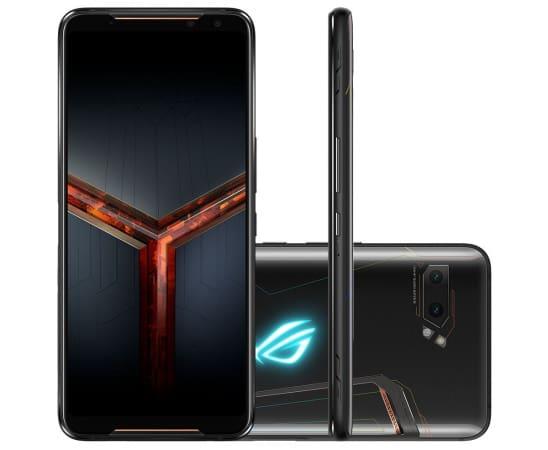 rog phone 2 melhor smartphone jogos