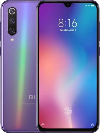 Xiaomi Mi 9 lilás.