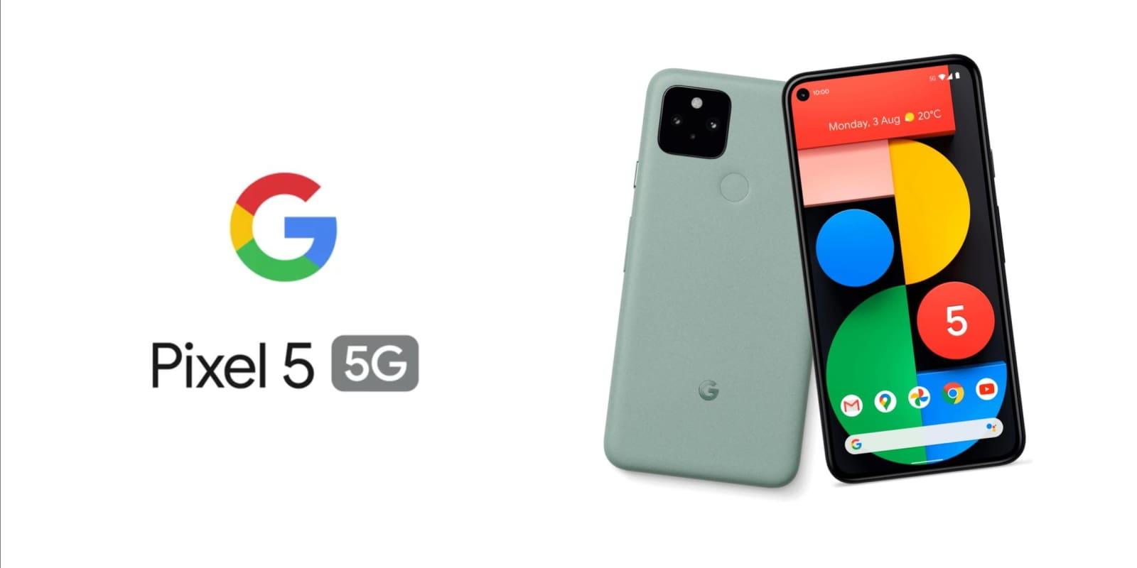 google pixel 5 5g oficial